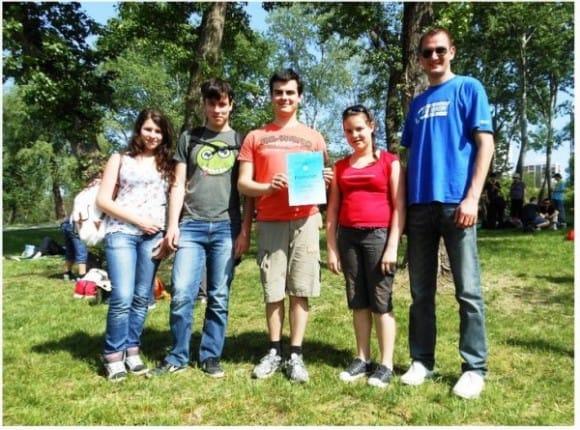 Tekmovanje stezosledcev v Zagrebu