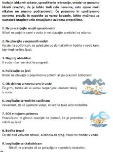 STEZOSLEDCI Osnovna varnost v vodi (4)